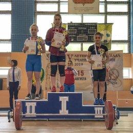 Вероника Мазалова завоевала серебряную медаль в Спартакиады учащихся России